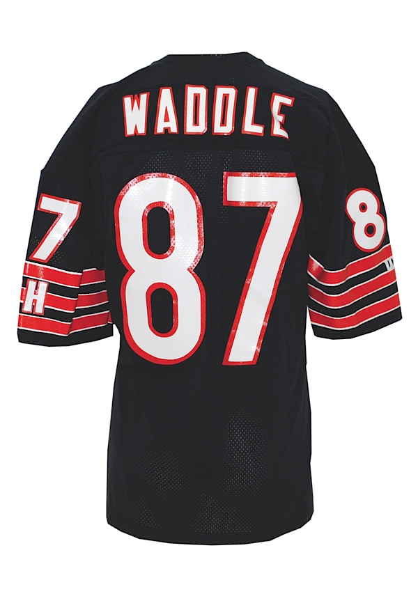 best website e57f3 3f7c0 Lot Detail - Circa 1992 Tom Waddle Chicago Bears Game-Used ...