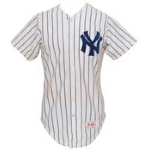 1986 Ken Griffey, Sr. NY Yankees Game-Used Home Jersey