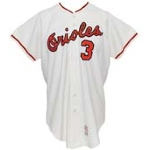 1970 Clay Dalrymple Baltimore Orioles Game-Used Home Flannel Jersey