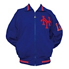 Late 1980's Ron Darling NY Mets Worn & Autographed Bench Jacket (JSA)
