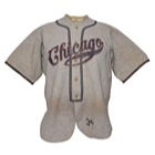 "1933 Hazen ""Kiki"" Cuyler Chicago Cubs Game-Used Road Flannel Jersey (Very Rare)"