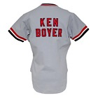 1980s Ken Boyer St. Louis Cardinals Old Timers Day Worn Jersey