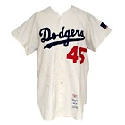 1969 Ken Boyer Los Angeles Dodgers Game-Used Home Flannel Jersey (Letter of Provenance)(Final Season)
