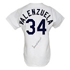 Circa 1984 Fernando Valenzuela Los Angeles Dodgers Game-Used & Autographed Home Jersey (JSA)