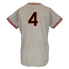1947 Mel Ott New York Giants Player/Managers Worn Road Jersey (Pristine Provenance)
