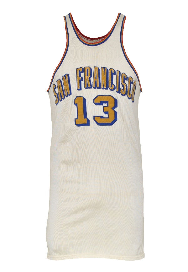 wholesale dealer 6796b b0dfe Lot Detail - Circa 1963-64 Wilt Chamberlain San Francisco ...
