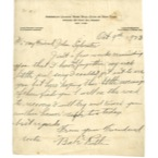 "October 9th, 1926 Babe Ruth Handwritten & Signed Letter Written to ""Little"" Johnny Sylvester Before Game 6 of the 26 World Series (Full JSA • Sylvester Family LOA)"