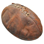 "Harold Edward ""Red"" Grange Football & TLS Presented to ""Little"" Johnny Sylvester (2)(Full JSA • Sylvester Family LOA)"