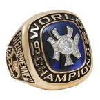 1996 George Steinbrenner NY Yankees World Championship Prototype Ring