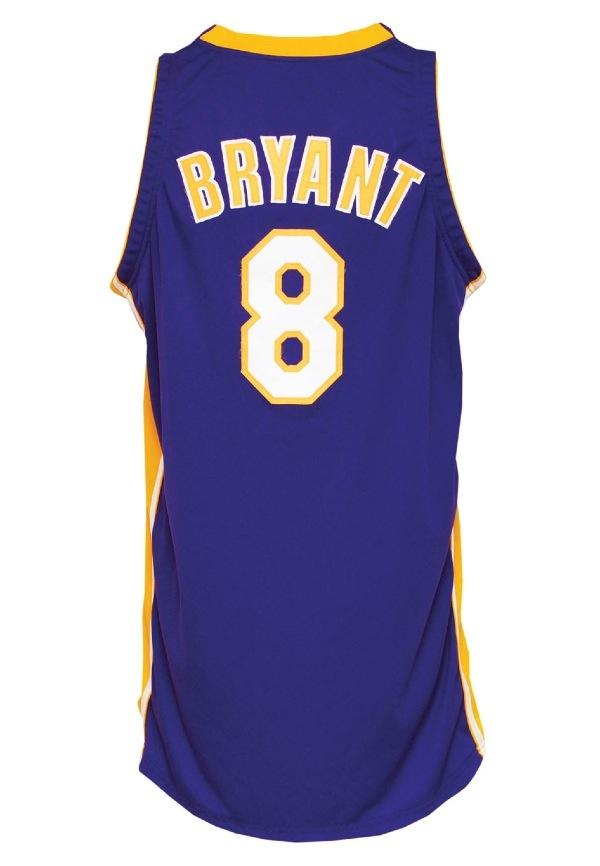 c49171e41 Lot Detail - 2002 Kobe Bryant Los Angeles Lakers NBA Finals Game ...
