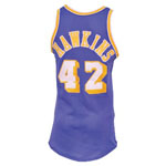 Circa 1974 Connie Hawkins Los Angeles Lakers Game-Used Road Jersey (Rare • BBHoF LOA)