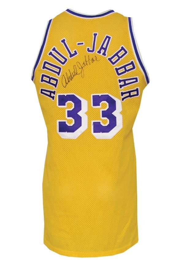 5285038b038 Lot Detail - 1987-88 Kareem Abdul-Jabbar Los Angeles Lakers Game ...