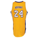 2012-13 Kobe Bryant Los Angeles Lakers Game-Used Home Jersey (Built-In Mic Pocket • Sourced From Team Employee • BBHoF LOA)