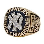 1977 Hoyt Wilhelm New York Yankees World Championship Coaches Ring (Family LOA)