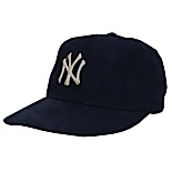 1970s Billy Martin New York Yankees Manager Worn & Autographed Cap (JSA)