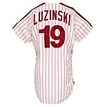 1978 Greg Luzinski Philadelphia Phillies Game-Used Home Jersey