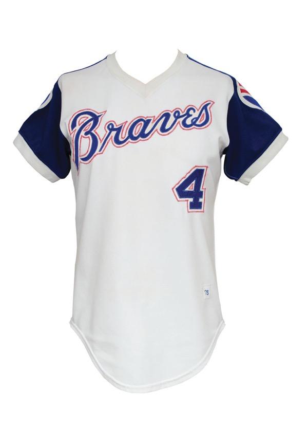 promo code fca72 9a19c Lot Detail - 1973 Larvell Blanks Atlanta Braves Game-Used ...