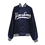 Circa 1999 David Cone New York Yankees Worn Jacket (Batboy LOA)