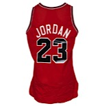 1991-92 Michael Jordan Chicago Bulls Game-Used Road Jersey (Championship Season • Regular Season &  Finals MVP • Scoring Champion)