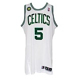 2012-13 Kevin Garnett Boston Celtics Game-Used Home Jersey (Boston Marathon Patch)