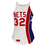 "1975-76 Julius ""Dr. J"" Erving ABA New York Nets Game-Used Home Jersey (Exceedingly Rare • Photomatch • MVP & Championship Season)"