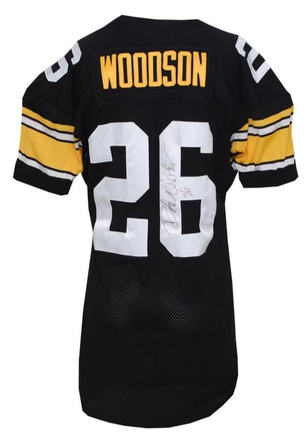 wholesale dealer de584 ae7bc rod woodson steelers jersey