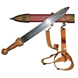 "1960 Kirk Douglas ""Spartacus"" Original Screen-Used Roman Sword & Scabbard Hero Prop (Profiles In History Documentation • Originally Sourced From Set Personnel)"