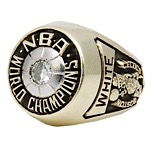 1974 Jo Jo White Boston Celtics NBA Championship Ring (Salesmans Sample)