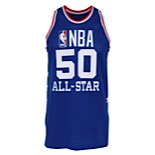 1985 Ralph Sampson NBA All-Star Game-Used Western Conference Jersey (Photomatch • All-Star Game MVP)
