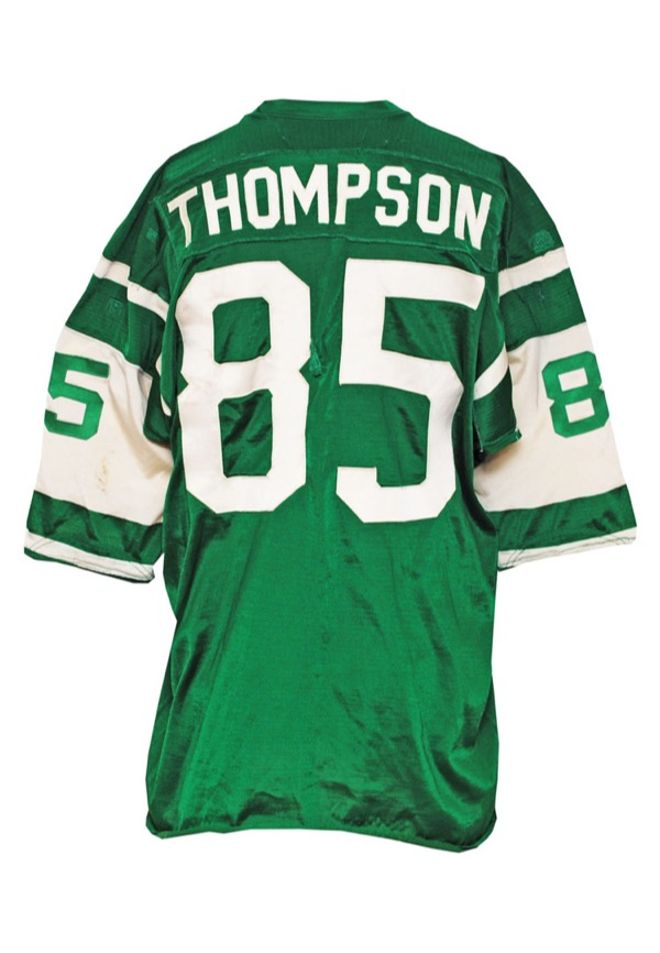 acbe07aa6e0 Lot Detail - Late 1970s Steve Thompson New York Jets Game-Used Home ...