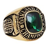 1969 John Clawson ABA Oakland Oaks Championship Players Ring (Clawson LOA • Mint • Extremely Rare)