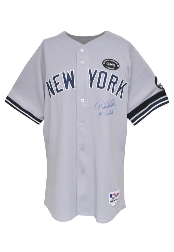 Lot Detail - 8 01 2010 Derek Jeter New York Yankees Game-Used ... 248e91847b1