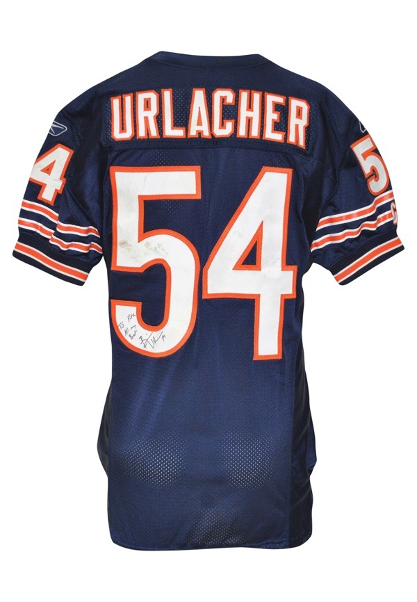 best authentic 0ff68 31acc Lot Detail - 8/25/2006 Brian Urlacher Chicago Bears ...