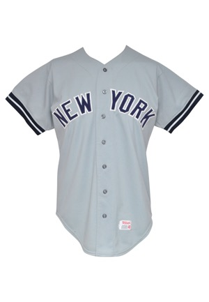 1976 Ron Guidry Rookie New York Yankees Game-Used Road Jersey