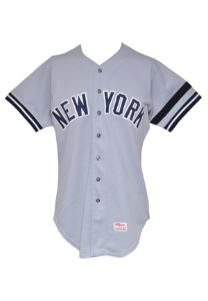 1980 Graig Nettles New York Yankees Game-Used Road Jersey (Thurman Munson Memorial Armband)