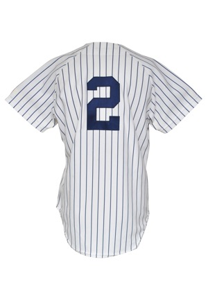 1981 Bobby Murcer New York Yankees Game-Used & Autographed Home Uniform (2)(JSA)