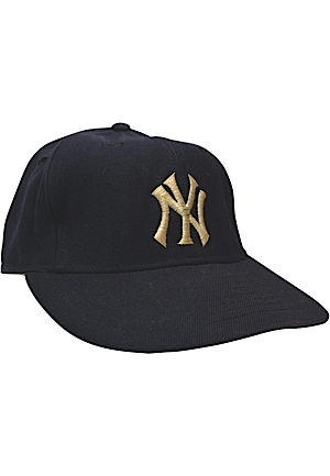 New York Yankees Game-Used & Team-Issued Caps (7)(Batboy LOA)