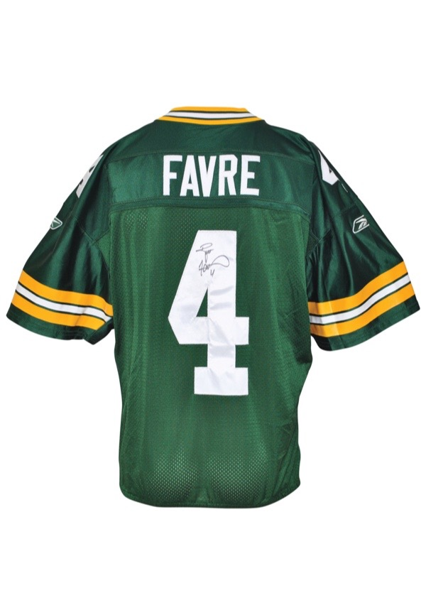 another chance 12d4e aba27 Lot Detail - 2004 Brett Favre Green Bay Packers Game-Used ...
