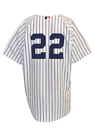 2002 Roger Clemens New York Yankees Game-Used Home Pinstripe Jersey (Steinmetz LOA)