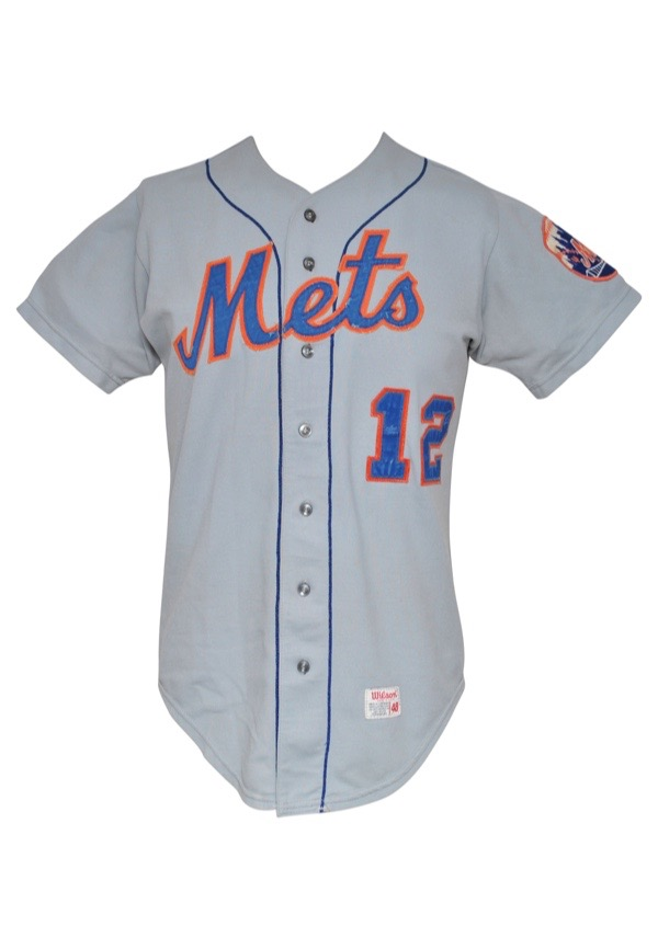 innovative design f8a08 7fce5 Lot Detail - 1972 Ken Boswell New York Mets Game-Used Road ...