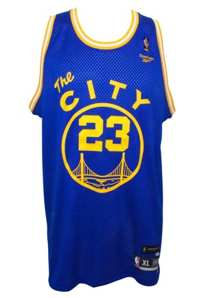 Micheal Ray Richardson Golden State Warriors Autographed Replica Jersey (JSA)