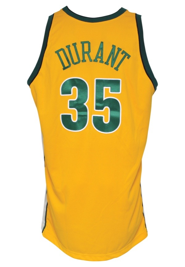 3c450615b79 Lot Detail - 2007-08 Kevin Durant Rookie Seattle SuperSonics Game ...