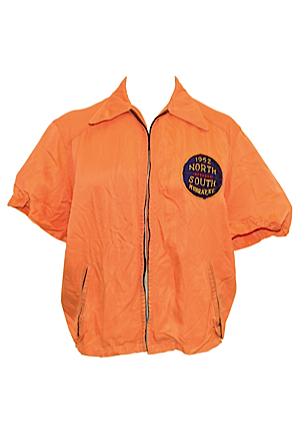 1952 Tommie Heinsohn College North-South Cage Classic Worn Warm-Up Jacket (Diane Heinsohn LOA)