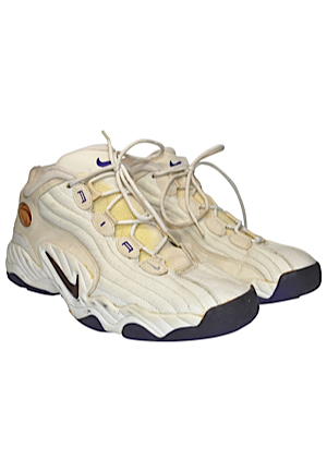 John Stockton Game-Used & Autographed Sneakers (JSA)