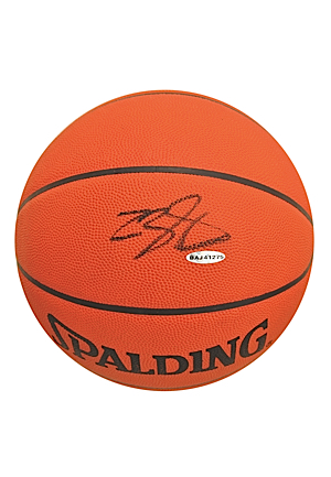 LeBron James Autographed Basketball (JSA • Upper Deck LOA)