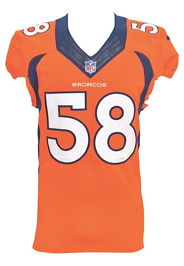 info for 43fe2 9f720 Lot Detail - 12/7/2014 Von Miller Denver Broncos Game-Used ...