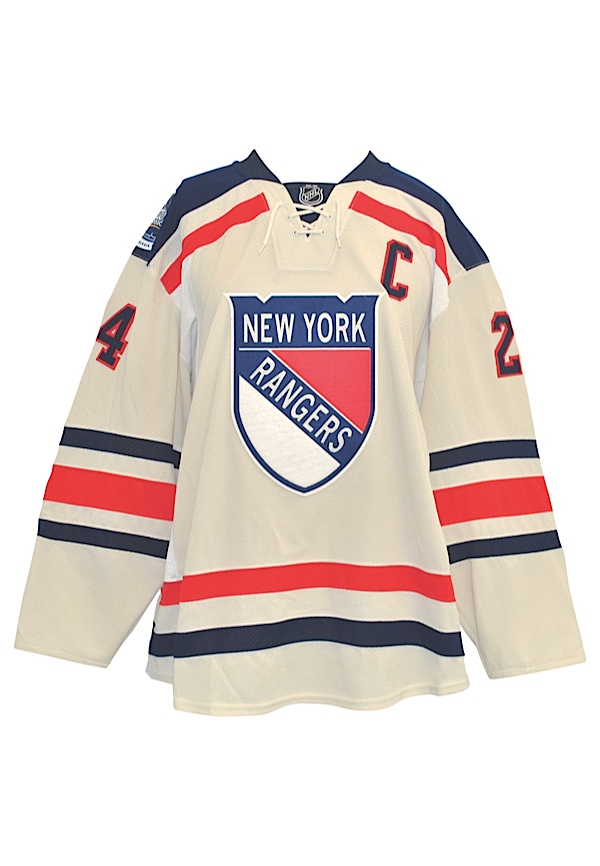 watch f9125 b03d8 Lot Detail - 1/2/2012 Ryan Callahan New York Rangers Game ...