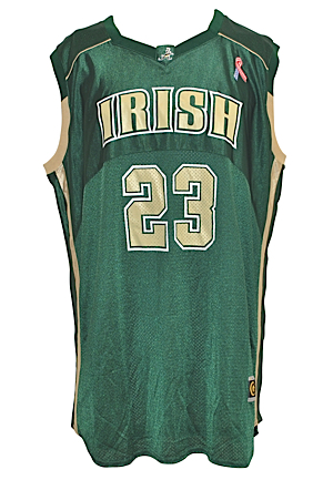 2002-03 LeBron James St. Vincent/St. Mary Game-Used Road Jersey