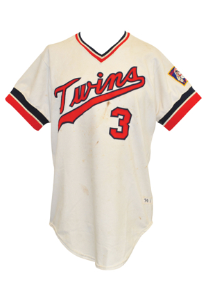 1974 Harmon Killebrew Minnesota Twins Game-Used Home Jersey (Final Season In Minnesota)