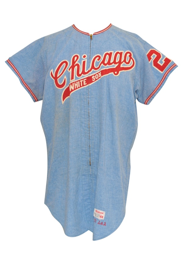 hot sale online 783b0 08aa0 Lot Detail - 1971 Chicago White Sox Jerseys — Mike ...